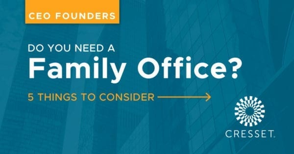 Do you need a Family Office
