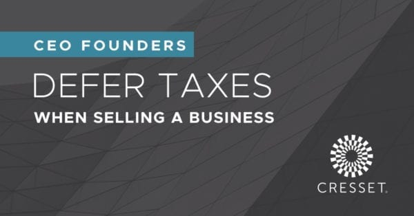 Defer Taxes When Selling a Businesses
